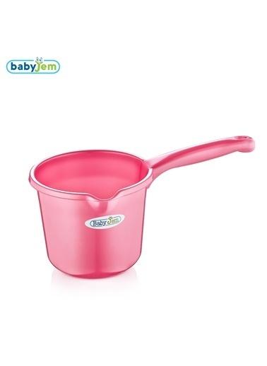Baby Jem Babyjem Bebek Banyo Maşrapası  Pembe
